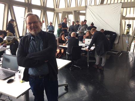 Craig Russell - On film set